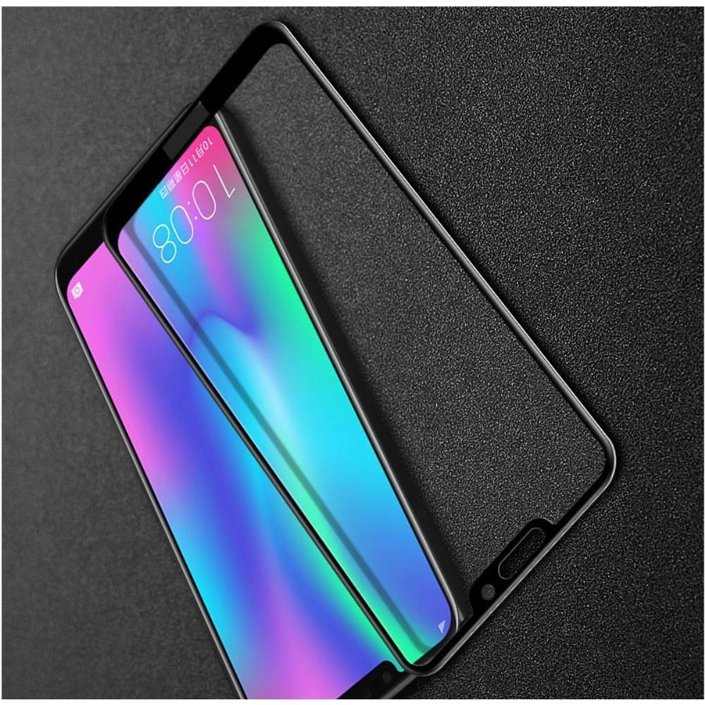 Закаленное Полноклеевое Full Glue Screen Cover IMAK Pro+ Стекло для Huawei Honor 8C Черное