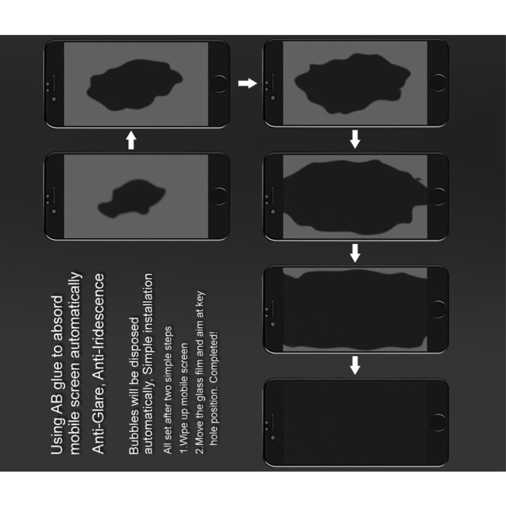 Закаленное Полноклеевое Full Glue Screen Cover IMAK Pro+ Стекло для Huawei P20 Черное