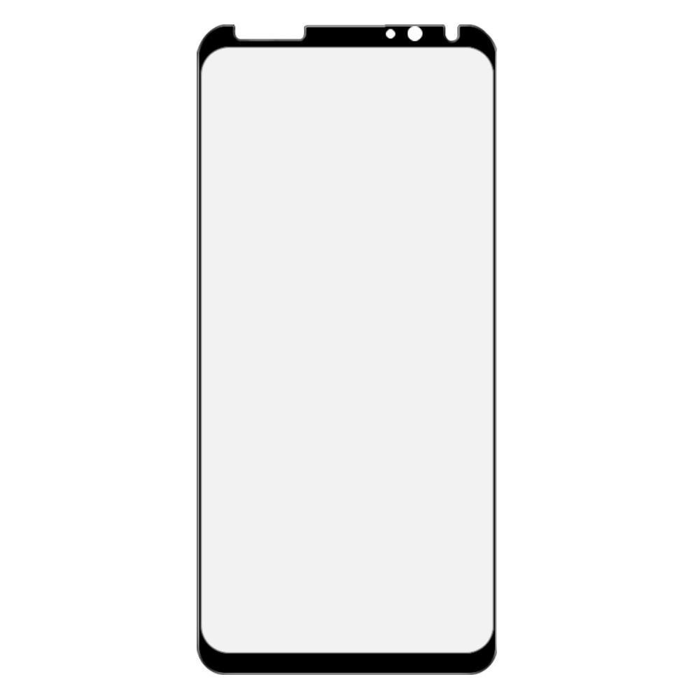 Закаленное Полноклеевое Full Glue Screen Cover IMAK Pro+ Стекло для Meizu 16X Черное