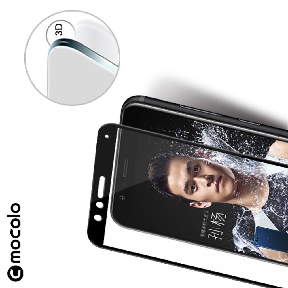 Закаленное Полный Охват Экрана MOCOLO Tempered Стекло для Huawei Honor 7X Черное