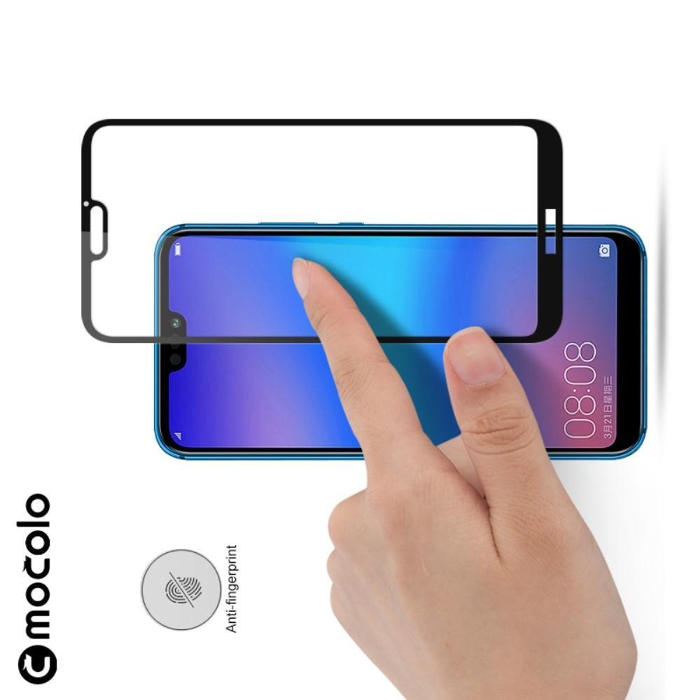 Закаленное Полный Охват Экрана MOCOLO Tempered Стекло для Huawei P20 Pro Черное
