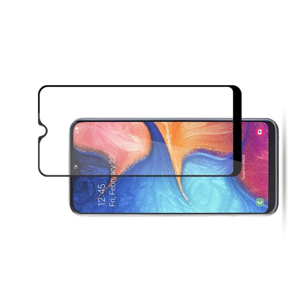 Закаленное Полный Охват Экрана MOCOLO Tempered Стекло для Samsung Galaxy A20e Черное