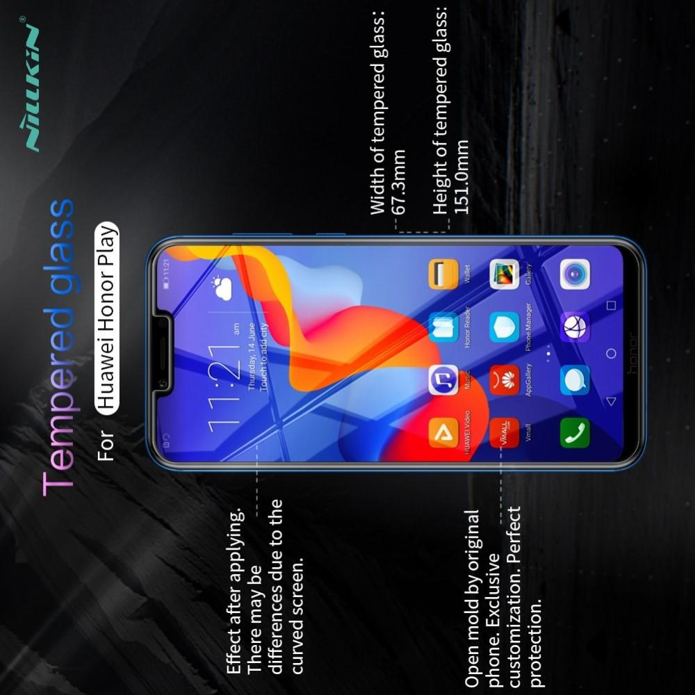 Закаленное Защитное Олеофобное NILLKIN H+PRO Прозрачное стекло на экран Huawei Honor Play