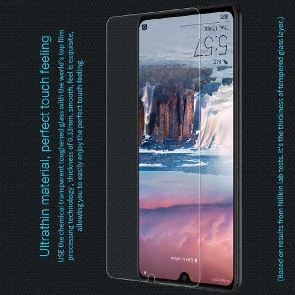 Закаленное Защитное Олеофобное NILLKIN H Прозрачное стекло на экран Huawei P30