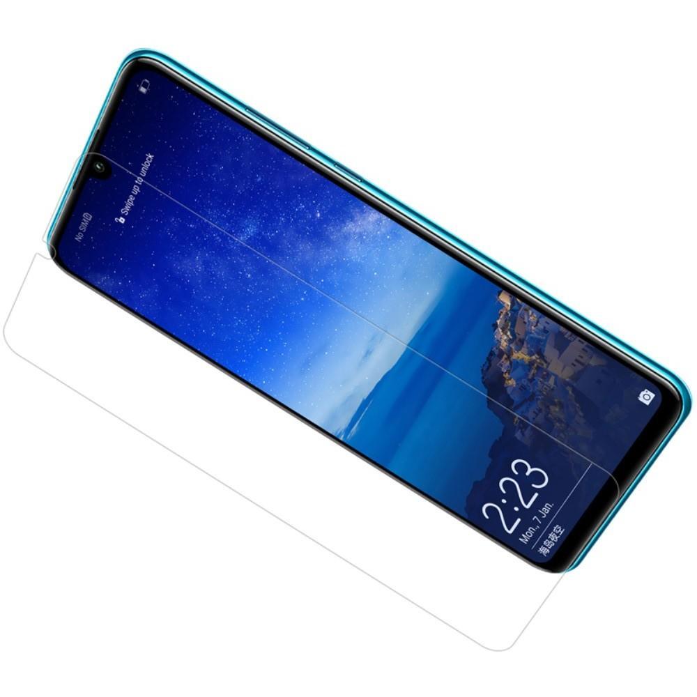 Закаленное Защитное Олеофобное NILLKIN H Прозрачное стекло на экран Huawei P30 Lite