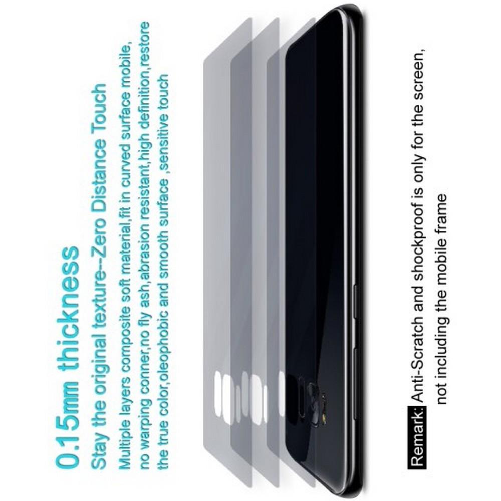 Защитная Гидрогель Full Screen Cover IMAK Hydrogel пленка на Заднюю Панель Huawei Honor View 20 (V20) - 2шт.