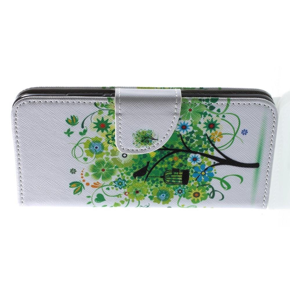Защитный Флип Чехол для Huawei Honor 10 в Виде Книжки с Рисунком Дерево