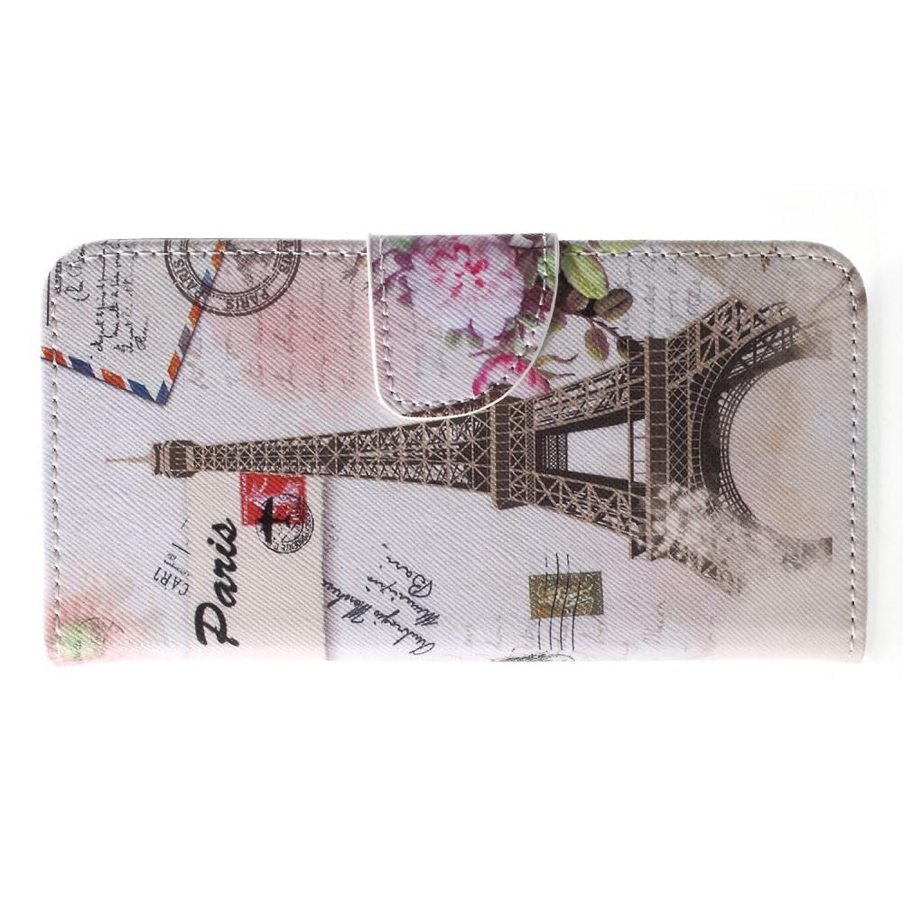 Защитный Флип Чехол для Huawei P20 в Виде Книжки с Рисунком Париж