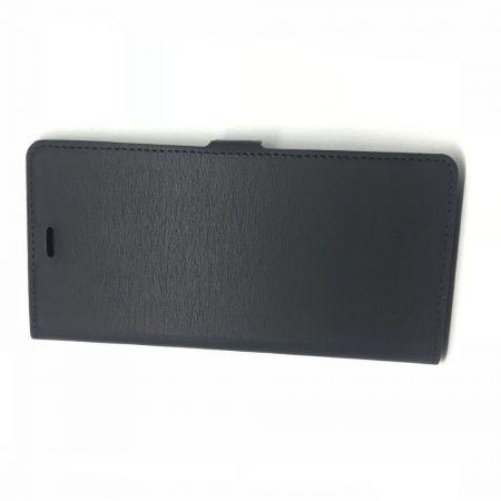 Горизонтальный Искусственно Кожаный Премиум DF Флип Чехол Книжка для Huawei Mate 30 с Боковой Магнитной Застежкой Черный