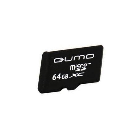 Карта памяти для телефона 64 Гб MicroSD Class 10 Qumo