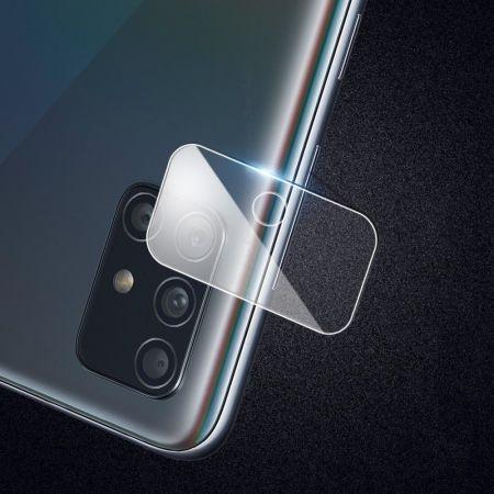 Олеофобное Закаленное Защитное Стекло на Заднюю Камеру Объектив для Samsung Galaxy A71