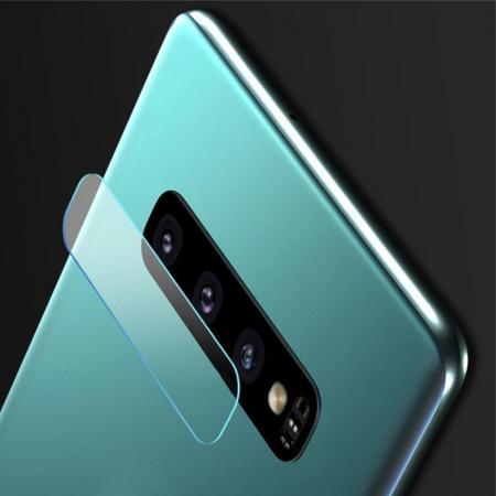 Олеофобное Закаленное Защитное Стекло на Заднюю Камеру Объектив для Samsung Galaxy S10 Plus
