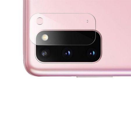 Олеофобное Закаленное Защитное Стекло на Заднюю Камеру Объектив для Samsung Galaxy S20