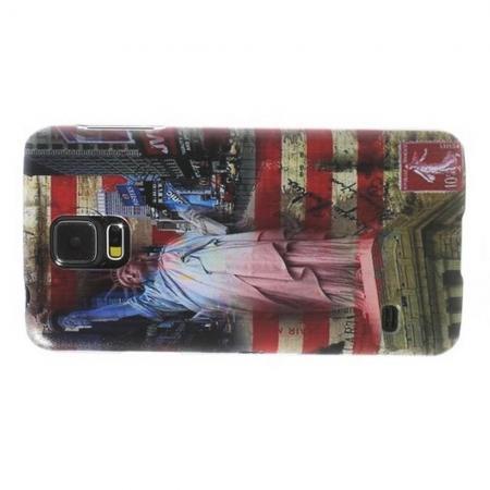 Пластиковый с Рисунком Чехол для Samsung Galaxy S5 Нью-Йорк