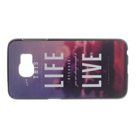 Пластиковый с Рисунком Чехол для Samsung Galaxy S6 Пляж