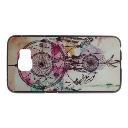 Пластиковый с Рисунком Чехол для Samsung Galaxy S6 Ловец Снов