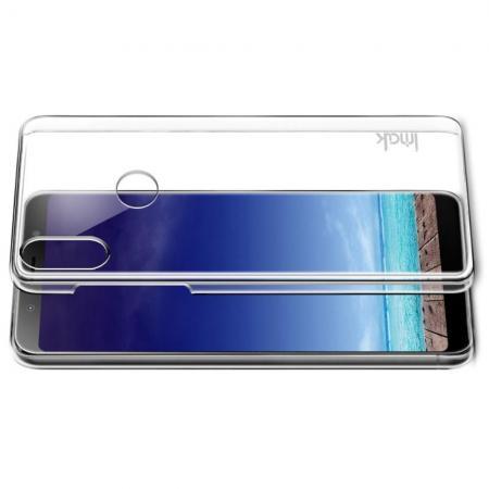 Пластиковый Жесткий Прозрачный Корпус IMAK Чехол для Asus Zenfone Max Pro M1 ZB602KL