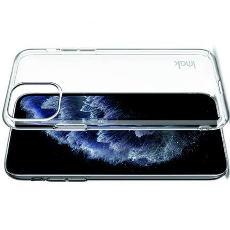 Пластиковый Жесткий Прозрачный Корпус IMAK Чехол для iPhone 11 Pro Max