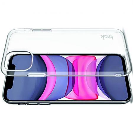 Пластиковый Жесткий Прозрачный Корпус IMAK Чехол для iPhone 11