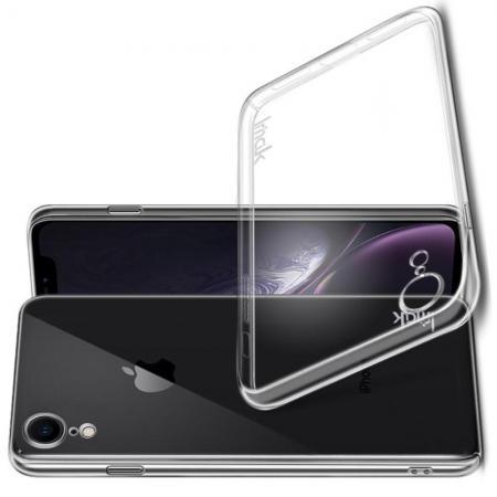 Пластиковый Жесткий Прозрачный Корпус IMAK Чехол для iPhone XR