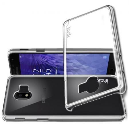 Пластиковый Жесткий Прозрачный Корпус IMAK Чехол для Samsung Galaxy J4 2018 SM-J400