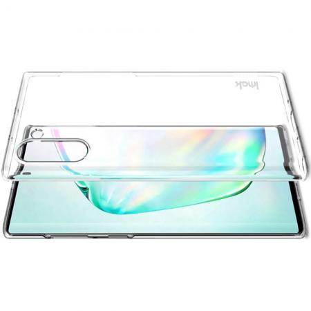 Пластиковый Жесткий Прозрачный Корпус IMAK Чехол для Samsung Galaxy Note 10