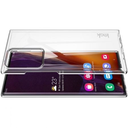 Пластиковый Жесткий Прозрачный Корпус IMAK Чехол для Samsung Galaxy Note 20 Ultra