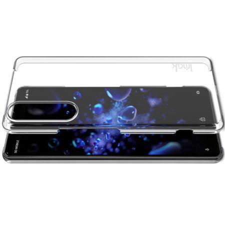 Пластиковый Жесткий Прозрачный Корпус IMAK Чехол для Sony Xperia 1 II
