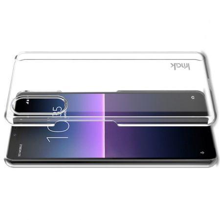 Пластиковый Жесткий Прозрачный Корпус IMAK Чехол для Sony Xperia 10 II