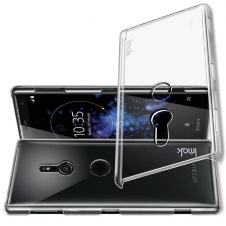 Пластиковый Жесткий Прозрачный Корпус IMAK Чехол для Sony Xperia XZ3