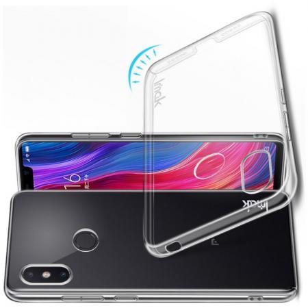 Пластиковый Жесткий Прозрачный Корпус IMAK Чехол для Xiaomi Mi 8 SE