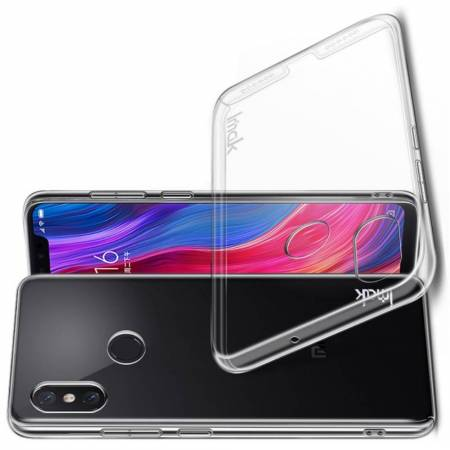 Пластиковый Жесткий Прозрачный Корпус IMAK Чехол для Xiaomi Mi 8