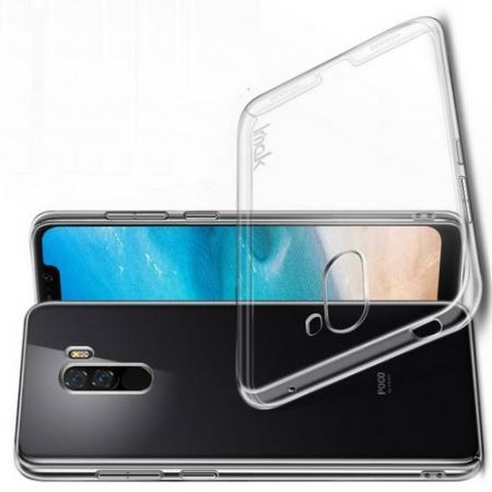 Пластиковый Жесткий Прозрачный Корпус IMAK Чехол для Xiaomi Pocophone F1