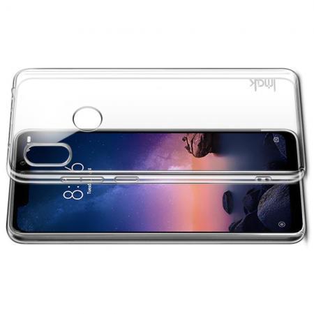 Пластиковый Жесткий Прозрачный Корпус IMAK Чехол для Xiaomi Redmi Note 6 / Note 6 Pro