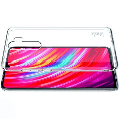 Пластиковый Жесткий Прозрачный Корпус IMAK Чехол для Xiaomi Redmi Note 8 Pro