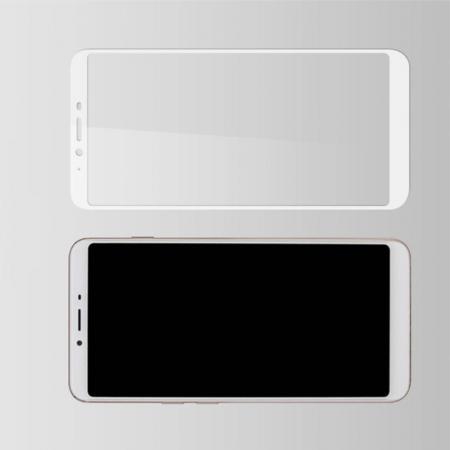 Полноэкранное Закаленное Олеофобное DF Full Screen Защитное Стекло Белое для Meizu E3