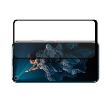 Полноэкранное Закаленное Олеофобное DF Full Screen Защитное Стекло Черное для Huawei Nova 5T