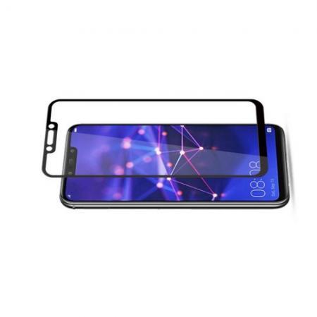 Полноэкранное Закаленное Олеофобное DF Full Screen Защитное Стекло Черное для Huawei Mate 20 Lite