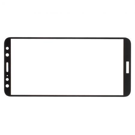 Полноэкранное Закаленное Олеофобное DF Full Screen Защитное Стекло Черное для Huawei Nova 2i / Mate 10 Lite