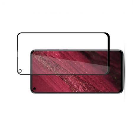Полноэкранное Закаленное Олеофобное DF Full Screen Защитное Стекло Черное для Huawei Nova 4
