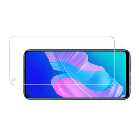 Полноэкранное Закаленное Олеофобное DF Full Screen Защитное Стекло Черное для Huawei P40 lite E