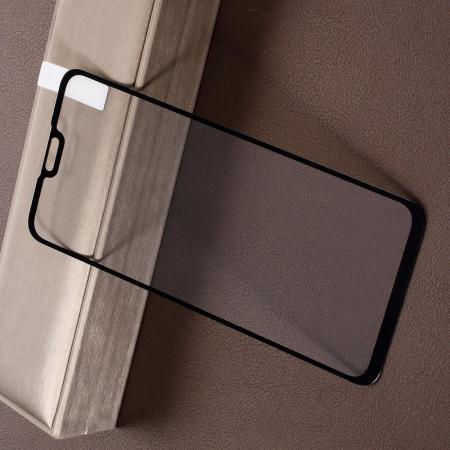 Полноэкранное Закаленное Олеофобное DF Full Screen Защитное Стекло Черное для Huawei Y9 2019