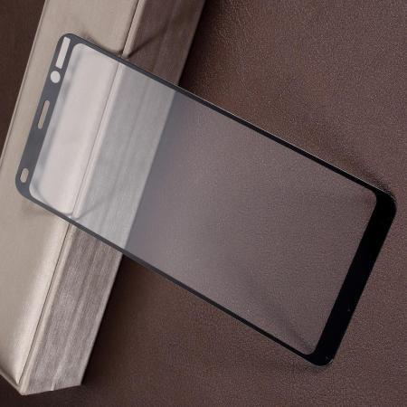 Полноэкранное Закаленное Олеофобное DF Full Screen Защитное Стекло Черное для Nokia 9 PureView