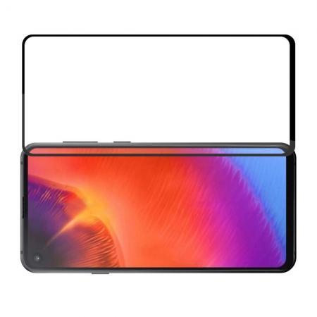 Полноэкранное Закаленное Олеофобное DF Full Screen Защитное Стекло Черное для Samsung Galaxy A60