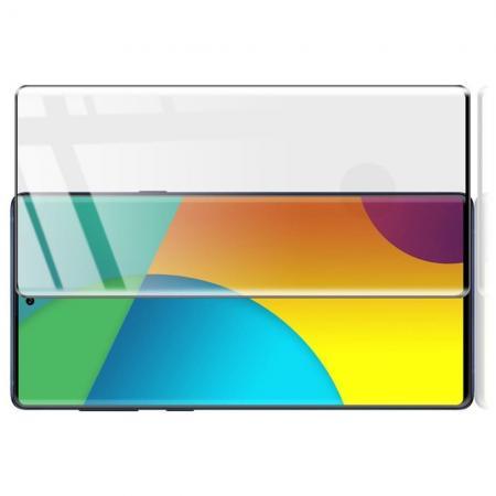 Полноэкранное Закаленное Олеофобное Full Screen Защитное Стекло Черное для Samsung Galaxy Note 10