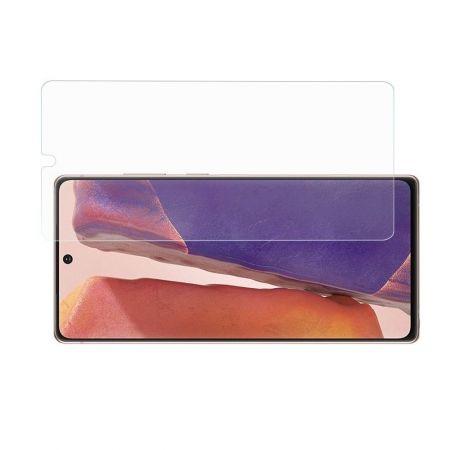 Полноэкранное Закаленное Олеофобное DF Full Screen Защитное Стекло Черное для Samsung Galaxy Note 20