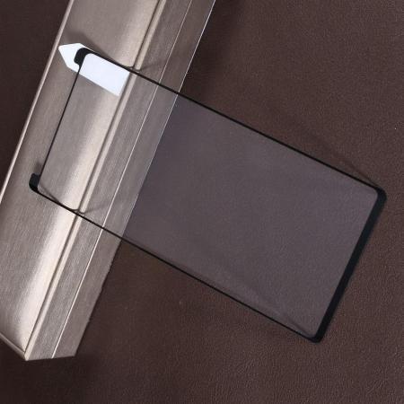 Полноэкранное 3D Закаленное Олеофобное DF Full Screen Защитное Стекло Черное для Samsung Galaxy Note 9