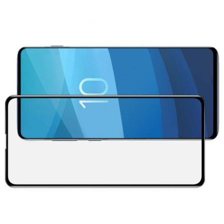 Полноэкранное Закаленное Олеофобное 3D DF Full Screen Защитное Стекло Черное для Samsung Galaxy S10e