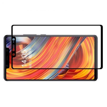 Полноэкранное Закаленное Олеофобное DF Full Screen Защитное Стекло Черное для Xiaomi Mi 8 SE