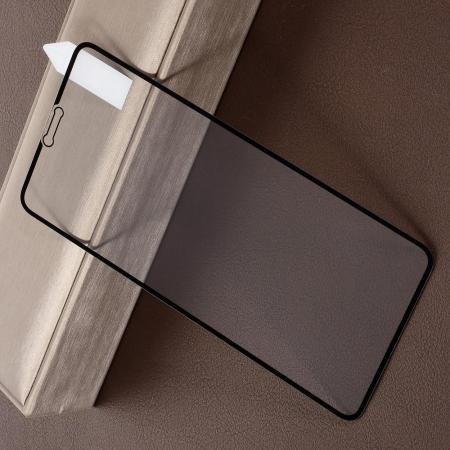 Полноэкранное Закаленное Олеофобное DF Full Screen Защитное Стекло Черное для Xiaomi Redmi Note 6 / Note 6 Pro